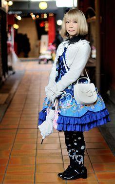 https://flic.kr/p/cH1P9J   Blue Sweet Lolita   Metamorphose temps de fille
