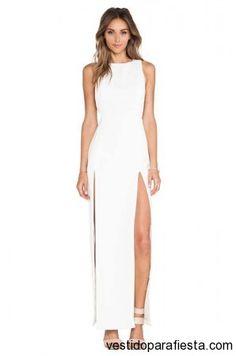 Maxi vestidos de fiesta con abertura en la pierna 2014 http://vestidoparafiesta.com/maxi-vestidos-de-fiesta-con-abertura-en-la-pierna-2014/