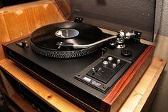 """Sansui - SR 717 ,Vintage Audiophile Turntable"" !...  http://about.me/Samissomar"