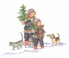 A Doll's Christmas by Tasha Tudor. Tasha Tudor offers so many wonderful Christmas books for your children.  Many still available on Amazon.  Repinned by www.mygrowingtraditions.com