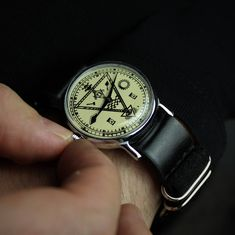 Watches for men soviet watch vintage watch MASONIC watch Vintage Military Watches, Swiss Army Watches, Retro Watches, Vintage Watches, Mens Watches Leather, Watches For Men, Masonic Watches, Skeleton Watches, Nato Strap