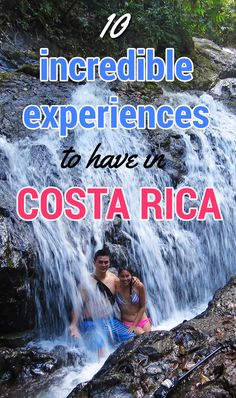 10 incredible experiences to have in Costa Rica that capture the essence of the country http://mytanfeet.com/costa-rica-travel-tips/essential-costa-rica-experiences/