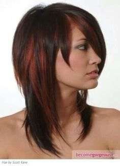 So I kind of like this for my hair, just an idea :)