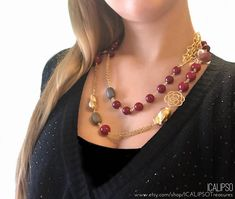Ruby necklace for women red necklace gold necklace long image 3 necklace silver necklake necklake necklace necklace for girlfriends pendant set wrapped pendant necklace Ruby Necklace, Diamond Pendant Necklace, Gemstone Necklace, Beaded Necklace, Locket Necklace, Necklace Set, Birthday Gifts For Girlfriend, Mum Birthday, Costum