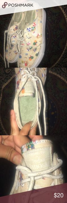 Nike SB Beach Janoski Worn and missing insoles not in brand new condition BUT it's a very cute summer shoe size in men's Nike Shoes Sneakers