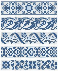 Cross Stitch Bookmarks, Cross Stitch Borders, Cross Stitch Designs, Cross Stitching, Cross Stitch Embroidery, Cross Stitch Patterns, Fair Isle Knitting Patterns, Knitting Charts, Loom Patterns