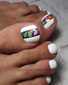 Pedicure Designs, Pedicure Nail Art, Toe Nail Designs, Toe Nail Art, Cute Toe Nails, Dope Nails, Pretty Pedicures, Pretty Nails, Elegant Nail Art