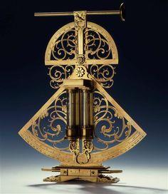 Gun with needle attachment level  Starck, Viktor (producer)  Starck, Victor (Author)  Dresden 1635,  Mathematics-Physics Salon