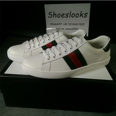 fe62c421ac4 Gucci white shoes 2018 new