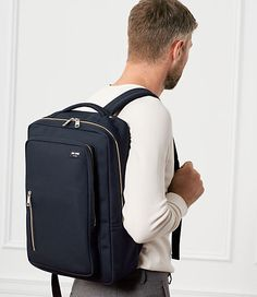 Designed for everyday carry, our Commuter Nylon Cargo Backpacks is made with durable Cordura fabric inside and out. The modern silhouette is sleek yet functional, making a crowded subway or bike ride a nonissue. The small zippeRed outer pocket is iPhone 6 sized, while the bag features two main compartments - an outer with cushioned Mobile/Tech pocket and key fob, and inner featuring a water bottle specific elastic pouch, a padded Laptop Bags pocket and Multiple compartments to ensure not...