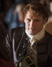 "Sam Heughan de la série ""Outlander"""