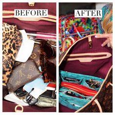 5c99fb1c73e3 HOW TO CHOOSE YOUR SIZE. Handbag OrganizerHandbag ...