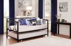 DHP Universal Daybed Twin Size Trundle in Black #DHP