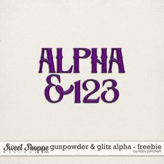 Quality DigiScrap Freebies: Gunpowder & Glitz alpha freebie from Libby Pritchett