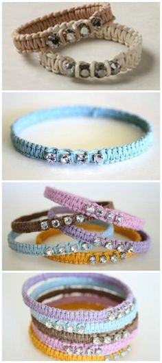 DIY Anthropologie Terra Scintilla Bracelet Knock-Off Tutorial – 32 Brilliant DIY Anthropologie Knockoffs