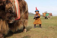 Yak & Boy, Mongolia                                                                                                                                                                                 More