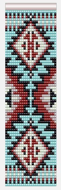 Герданы . Копилка схем Beading Patterns Free, Seed Bead Patterns, Peyote Patterns, Weaving Patterns, Stitch Patterns, Bead Loom Bracelets, Beaded Bracelet Patterns, Native Beadwork, Native American Beadwork