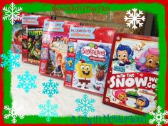 I entered to WIN 5 Holiday DVDs, coloring pages, stickers and posters from Nickelodeon! Ends 11//23/13.