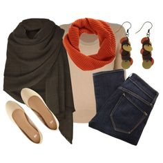 """Fall into Shawls"" by qtpiekelso on Polyvore"