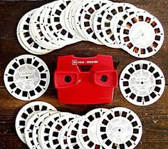 Although the View-Master is now considered a children's toy, it was originally marketed as a way for viewers to enjoy stereograms of colorful and picturesque tourist attractions