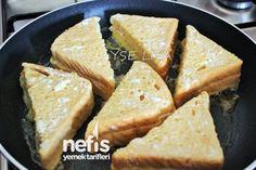 Fransız Tostu Nasıl Yapılır? 4 Cornbread, Waffles, French Toast, Recipies, Food And Drink, Yummy Food, Meals, Cooking, Ethnic Recipes