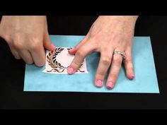 ▶ January 2015 BoBunny Blip Foil Rub Ons - YouTube