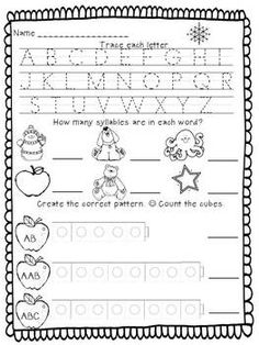 Independent Kindergarten Morning Work - Kreative in Kinder - TeachersPayTeachers.com