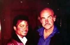 Sean Conery and Micheal Jackson | Sean Connery