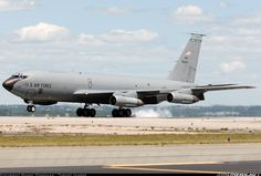 Boeing KC-135E Stratotanker (717-148) aircraft.  Pretty sure we had these at base
