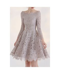 2018 Fashion Temperament Long Sleeve Lace Short Homecoming Dress For Teens Prom Dress 2019 Homecoming Dresses With Sleeves Lace Homecoming Dresses Cheap Homecoming Dresses Homecoming Dresses Short Homecoming Dresses 2019 Long Sleeve Homecoming Dresses, Homecoming Dresses 2017, Cute Prom Dresses, Prom Dresses For Teens, Lace Party Dresses, Prom Dresses With Sleeves, Pretty Dresses, Lace Dress, Short Dresses