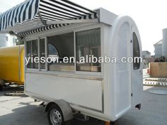 New Mobile Ice Cream Cart/food cart/food trailer YS-FV175A $3000~$4000