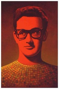 Buddy Holly by George Underwood