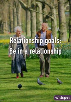 Relationship goals: Be in a relationship