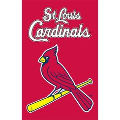 St Louis Cardinals 2 Sided Applique Banner Flags -- You can get additional details at the image link.