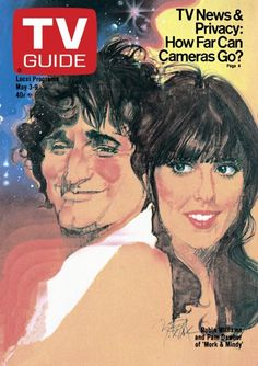 May 3, 1980 TV Guide Cover: Robin Williams and Pam Dawber of 'Mork & Mindy'