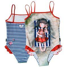 COSTUM BAIE INTREG GORJUSS-SUMMER DAYS Marvel Dc, Dc Comics, Santoro London, Summer Days, Bikinis, Swimwear, Onesies, Costumes, Retro