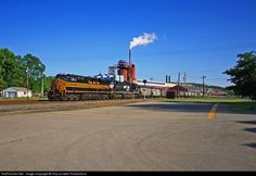 RailPictures.Net Photo: NS 8100 Norfolk Southern GE ES44AC at Allenport, Pennsylvania by Troy-a-nador Productions