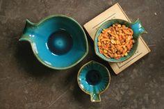 aqua fish bowls \ set of three   $49.00