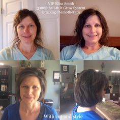 Let It Grow System Testimony. She has been battling stage IV metastatic breast cancer and is on life long chemotherapy. She was previously using another toxic hair growth system that didn't work and was causing a painful scalp. She couldn't wear a headband or even put her hair in a ponytail it was so painful, until Monat.