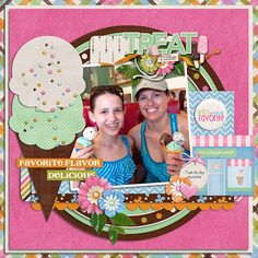 treat time cool treats - miss fish templates  ice cream social - connie prince  http://store.gingerscraps.net/Cool-Treat-Templates.html  http://store.gingerscraps.net/Ice-Cream-Social-Kit.html