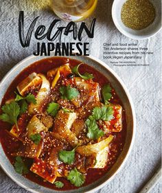 VEGAN JAPANESE (Olive Magazine), Mar 20, 2020 Spice Grinder, Toasted Sesame Seeds, Chilli Flakes, Bean Paste, The Dish, Tofu, Spicy, Recipies, Curry