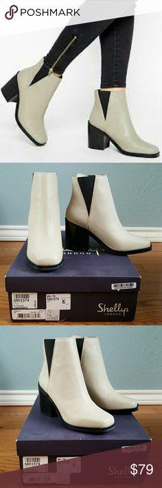 Selling this NIB Shellys London Lovenia Chelsea Boots ASOS on Poshmark! My username is: electra7. #shopmycloset #poshmark #fashion #shopping #style #forsale #ASOS #Shoes