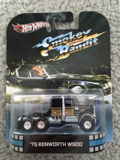 Hot Wheels 2013 RETRO G Case 75 Kenworth W900 NEW RARE