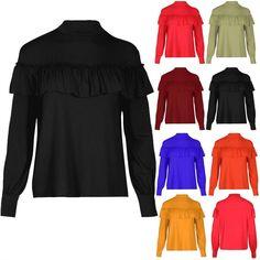 Womens Ladies Oversized Hi Lo Keyhole V Cut Choker Neck Marl Knit Loose Fit Top