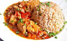 Recept : Vepřové kostky na zelenině, bulgur   ReceptyOnLine.cz - kuchařka, recepty a inspirace Fried Rice, Ethnic Recipes, Food, Bulgur, Essen, Meals, Nasi Goreng, Yemek, Stir Fry Rice