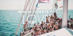 Win 2 x Tickets to Love International Festival, Croatia