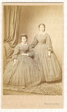1860s hungarian sisters