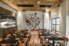 Yardbird, Hong Kong. Bespoke Restaurant Interior Architecture and Design by Sean Dix.