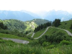 The view from the summit of Monte Zoncolan