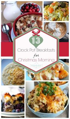 Crockpot breakfast r